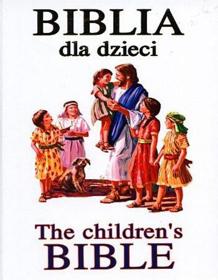 Obrazek Biblia dla dzieci. The children's bible (biała)