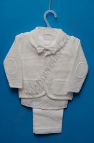 Obrazek Zestaw chłopięcy z marynarką swetrową kod 4983