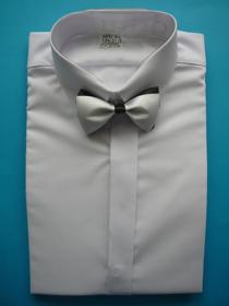 Obrazek Koszula z krytą pliską i muszką