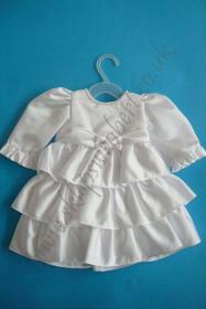 Obrazek Sukienka z falbankami dł.rękaw kod 4440