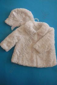 Obrazek Zestaw zimowy z futerka dla dziewczynki kod 3467