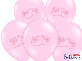 Obrazek Balony Bucik w kolorze Pastel Baby Pink