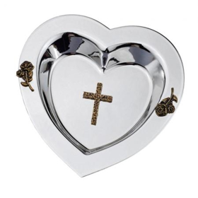 Picture of Miseczka serce srebrne