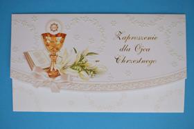 Picture of Zaproszenie dla Ojca Chrzestnego 16