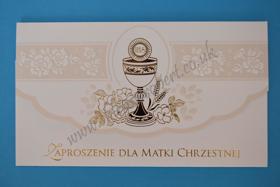 Picture of Zaproszenia dla Matki Chrzestnej 5