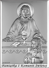 Obrazek Pan Jezus i dziewczynka 3