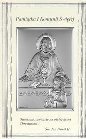Obrazek Pan Jezus i dziewczynka 4