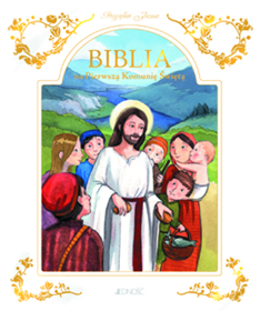 Obrazek Biblia na Pierwszą  Komunie Świętą