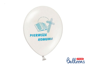 Picture of Balony z błękitnym nadrukiem