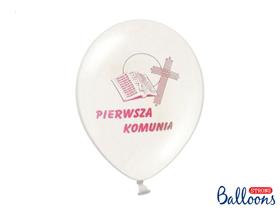 Picture of Balony z różowym nadrukiem