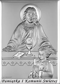 Obrazek Pan Jezus i chłopiec